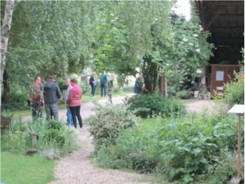Le jardin des Bergeries de Pierre et Monique - Site jardin au naturel